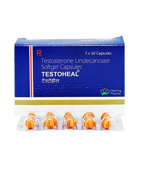 testosterone undecanoate 40mg (60 capsules) online by Healing Pharma
