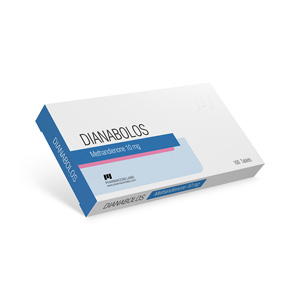 Methandienone oral (Dianabol) 10mg (100 pills) online by Pharmacom Labs