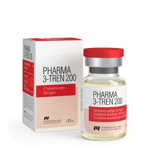 Trenbolone Mix (Tri Tren) 10ml vial (200mg/ml) online by Pharmacom Labs