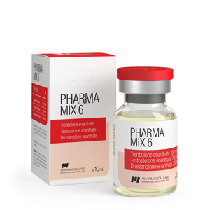 Trenbolone Enanthate, Testosterone Enanthate, Drostanolone Enanthate 10ml vial (500mg/ml) online by Pharmacom Labs