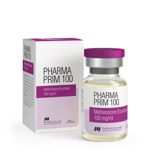 Methenolone enanthate (Primobolan depot) 10ml vial (100mg/ml) online by Pharmacom Labs