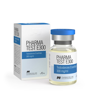 testosterone enanthate 10ml vial (300mg/ml) online by Pharmacom Labs