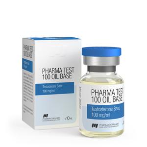 Testosterone Base 10ml vial (100mg/ml) online by Pharmacom Labs