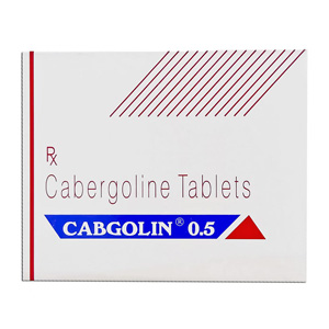 Cabergoline (Cabaser) 0.25mg (4 pills) online by Sun Pharma