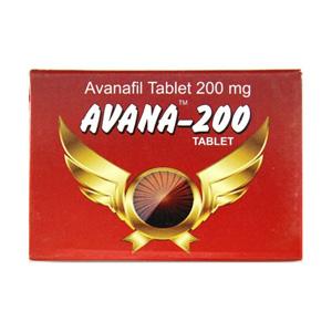Avanafil 200mg (4 pills) online by Indian Brand