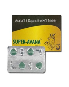 Avanafil and Dapoxetine 160mg (4 pills) online by Indian Brand