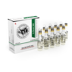 Boldenone undecylenate (Equipose) 10 ampoules (300mg/ml) online by Magnum Pharmaceuticals