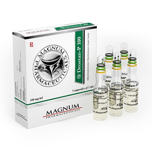 Drostanolone propionate (Masteron) 5 ampoules (100mg/ml) online by Magnum Pharmaceuticals