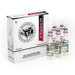 Trenbolone Acetate, Drostanolone Propionate, Testosterone Propionate 5 ampoules (250mg/ml) online by Magnum Pharmaceuticals