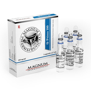 Methenolone enanthate (Primobolan depot) 5 ampoules (100mg/ml) online by Magnum Pharmaceuticals