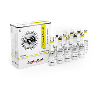 Stanozolol injection (Winstrol depot) 10 ampoules (100mg/ml) online by Magnum Pharmaceuticals