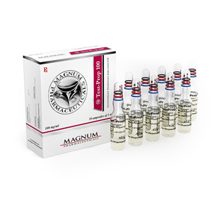 testosterone propionate 10 ampoules (100mg/ml) online by Magnum Pharmaceuticals