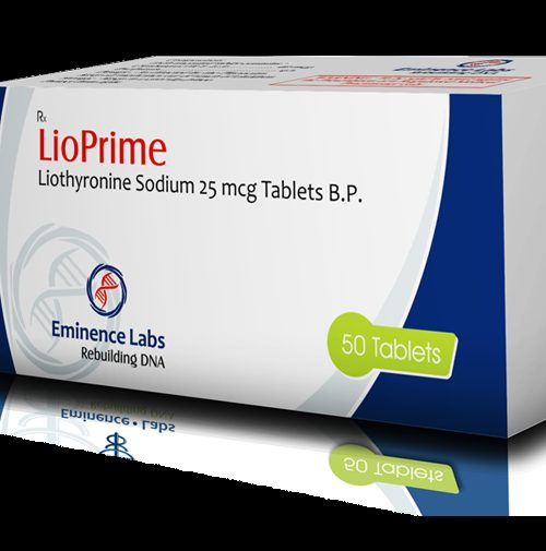 liothyronine (T3) 25mcg (50 pills) online by Eminence Labs