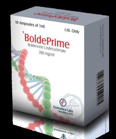 Boldenone undecylenate (Equipose) 10 ampoules (200mg/ml) online by Eminence Labs