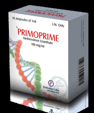 Methenolone acetate (Primobolan) 10 ampoules (100mg/ml) online by Eminence Labs