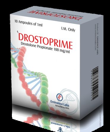 Drostanolone propionate (Masteron) 10 ampoules (100mg/ml) online by Eminence Labs