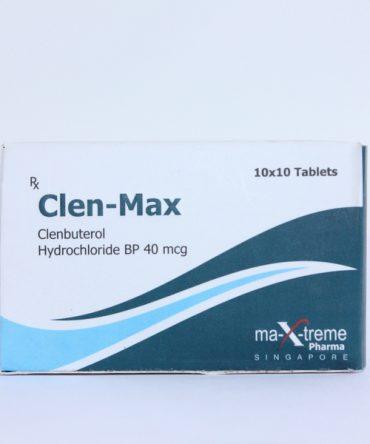 Clenbuterol hydrochloride (Clen) 40mcg (100 pills) online by Maxtreme