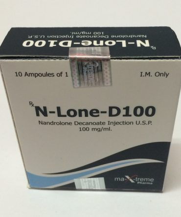Nandrolone decanoate (Deca) 10 ampoules (100mg/ml) online by Maxtreme