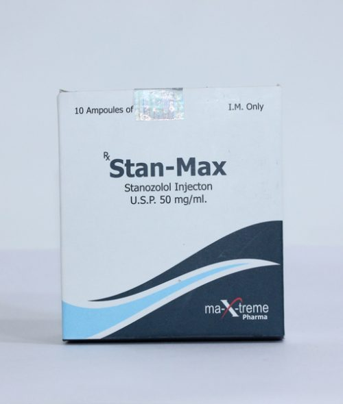 Stanozolol injection (Winstrol depot) 10 ampoules (50mg/ml) online by Maxtreme