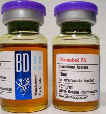 Trenbolone Acetate 10 ampoules (75mg /ml) online by BM Pharmaceuticals