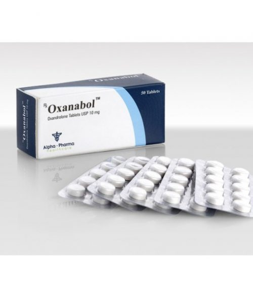 Oxandrolone (Anavar) 10mg (50 pills) online by Alpha Pharma
