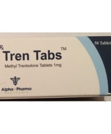 Methyltrienolone (Methyl trenbolone) 1mg (50 pills) online by Alpha Pharma