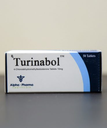 Turinabol (4-Chlorodehydromethyltestosterone) 10mg (50 pills) online by Alpha Pharma
