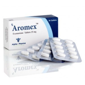 Exemestane (Aromasin) 25mg (30 pills) online by Alpha Pharma