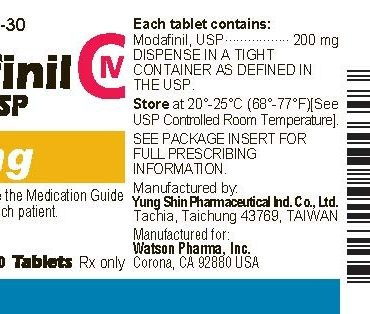Modafinil 200mg (30 pills) online by Alpha Pharma