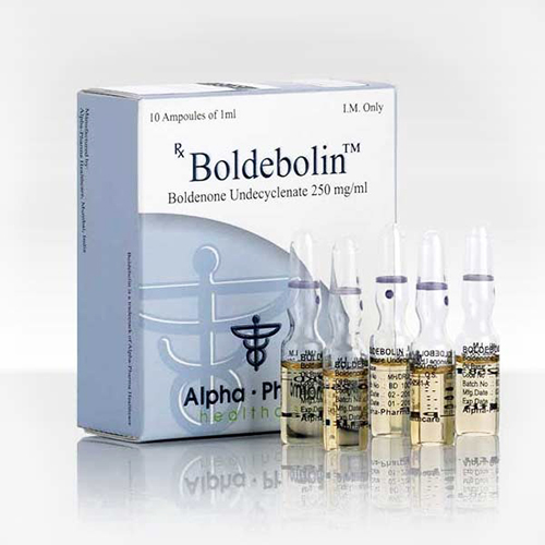 Boldenone undecylenate (Equipose) 10 ampoules (250mg/ml) online by Alpha Pharma