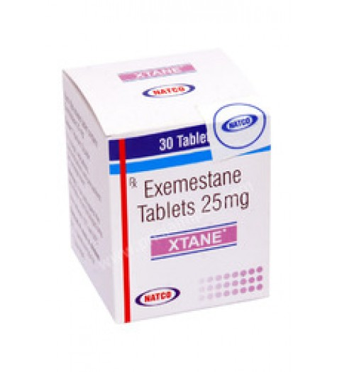 Exemestane (Aromasin) 25mg (28 pills) online by Natco Pharma