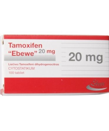 Tamoxifen citrate (Nolvadex) 20mg (10 pills) online by Sun Rise