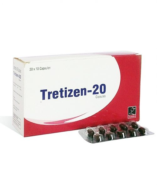 Isotretinoin (Accutane) 20mg (10 capsules) online by Zenlabs