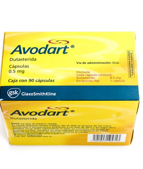 Dutasteride (Avodart) 0.5mg (15 capsules) online by Fortune