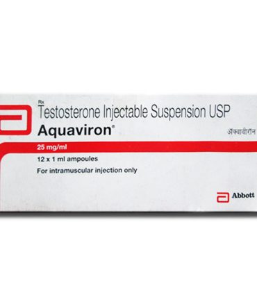 Testosterone suspension 12 ampoules (25mg/ml) online by Abbott Healthcare Pvt. Ltd, India