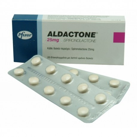 Aldactone (Spironolactone) 25mg (30 pills) online by RPG