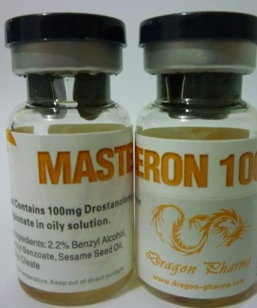 Drostanolone propionate (Masteron) 10 mL vial (100 mg/mL) online by Dragon Pharma