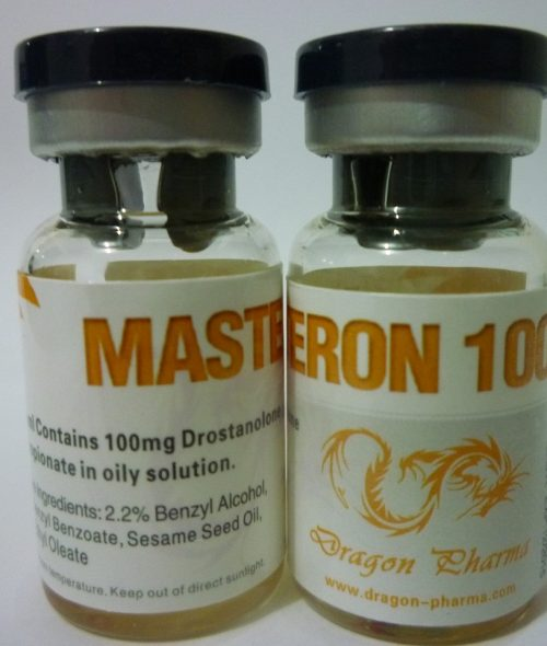 Drostanolone propionate (Masteron) 10 mL vial (100 mg/mL) online by Dragon Pharma