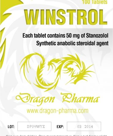 Stanozolol oral (Winstrol) 50mg (100 pills) online by Dragon Pharma