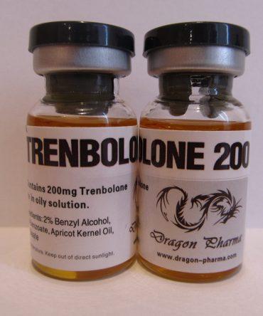 trenbolone enanthate 10 mL vial (200 mg/mL) online by Dragon Pharma
