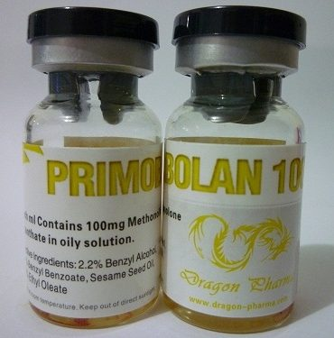Methenolone enanthate (Primobolan depot) 10 ampoules (100mg/ml) online by Dragon Pharma