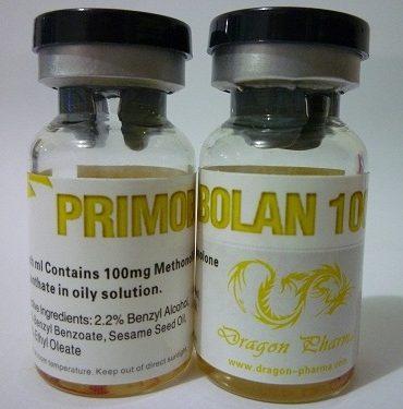 Methenolone enanthate (Primobolan depot) 10 ampoules (100mg/ml) online by Dragon Pharma