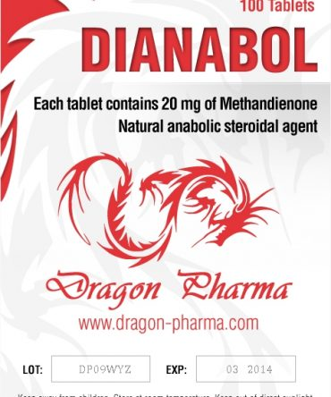 Methandienone oral (Dianabol) 20mg (100 pills) online by Dragon Pharma