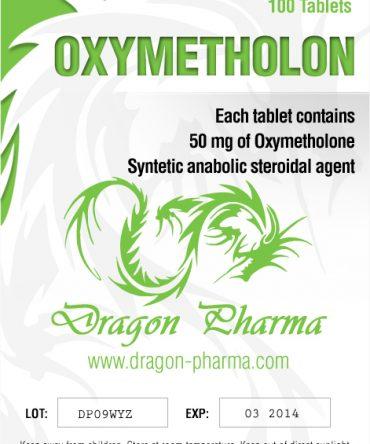 Oxymetholone (Anadrol) 100 tabs (50 mg/tab) online by Dragon Pharma