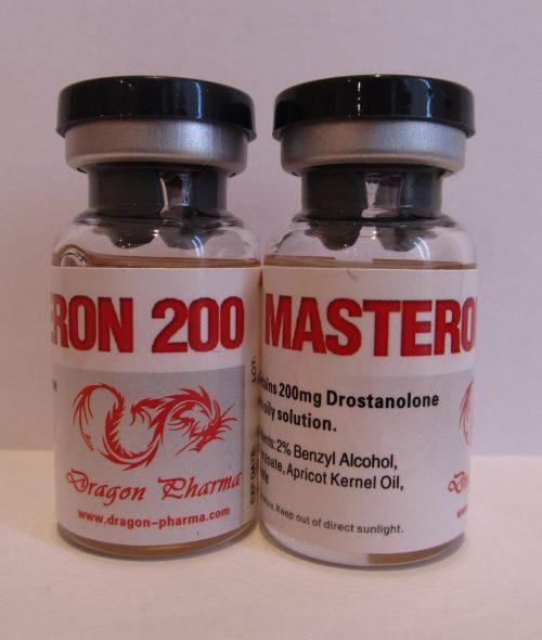 Drostanolone propionate (Masteron) 10 ampoules (200mg/ml) online by Dragon Pharma