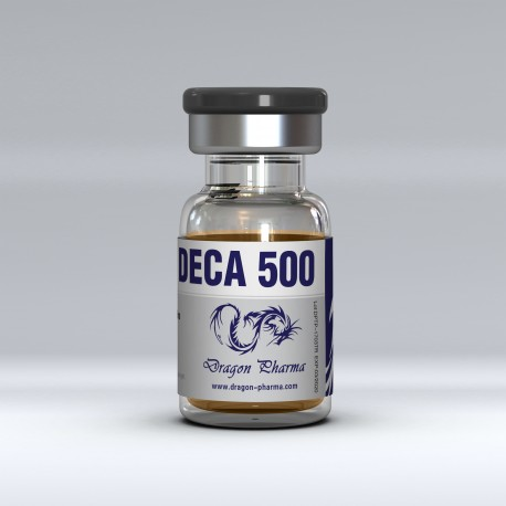 Nandrolone decanoate (Deca) 10 ml vial (500 mg/ml) online by Dragon Pharma
