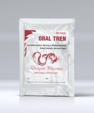Methyltrienolone (Methyl trenbolone) 100 tabs (250 mcg/tab) online by Dragon Pharma
