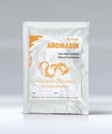 Exemestane (Aromasin) 100 tabs (25 mg/tab) online by Dragon Pharma