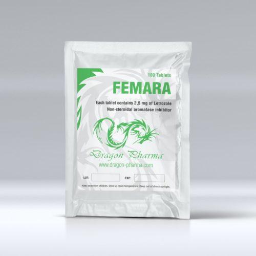 Letrozole 30 tabs (2,5 mg/tab) online by Dragon Pharma