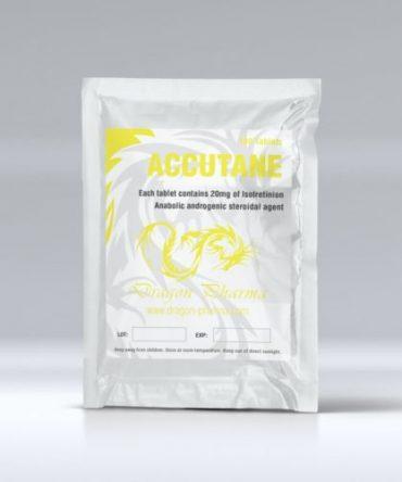 Isotretinoin (Accutane) 20mg (100 pills) online by Dragon Pharma